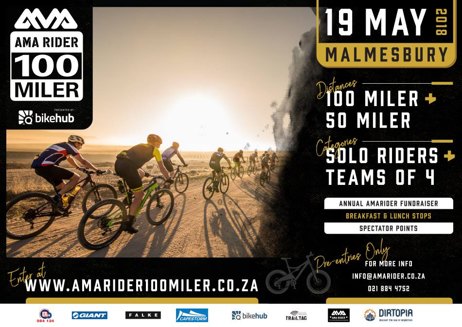 Mountain Bike Marathon Amarider 100 & 50 Miler
