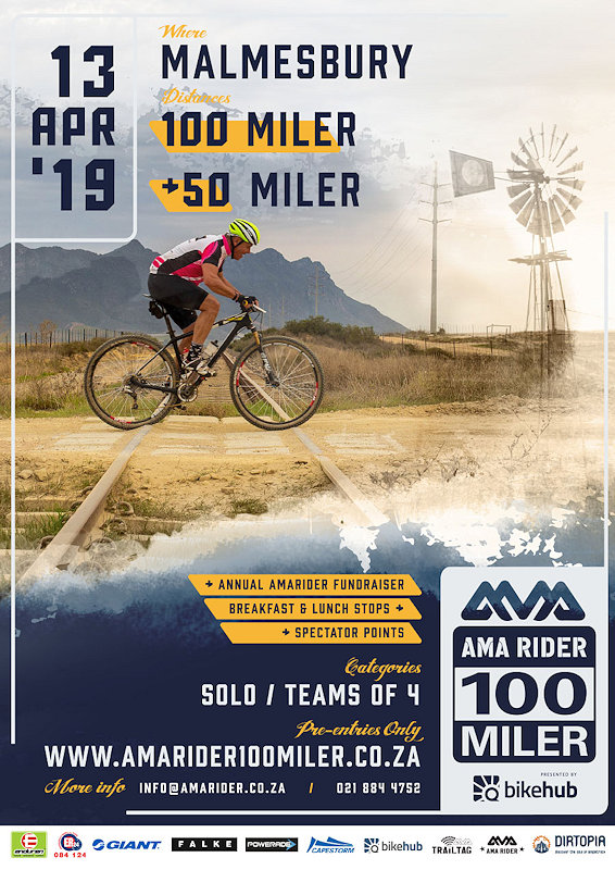 Amarider 100 Miler dirt bike event
